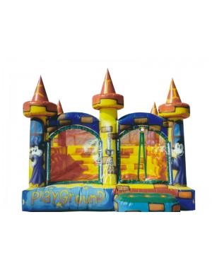 Castelo Inflável Médio 101 - 4m x 4m x 3.2m