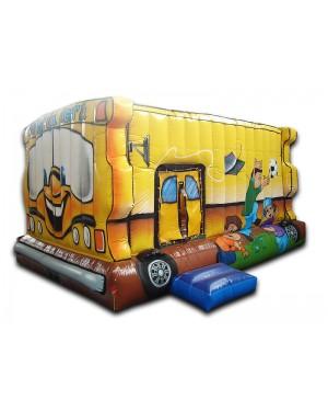 Pula-Pula Ônibus Inflável - 3m x  5m  x  2,8m