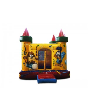 Castelo Inflável 3000 Bolinhas - 5m x 5m x 2,5m