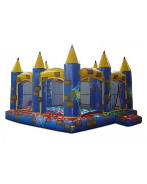 Castelo Inflável Médio - 4m x 4m x 3.20m