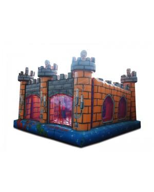 Castelo Inflável Medieval - 4,8m x 4,8m x 3.2m