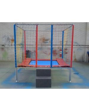 Cama Elástica Quadrada Módulo3 - 2m x 6m x 2,7m