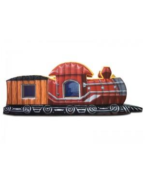 Trem Locomotiva 2000 bolinhas - 3m x 8m