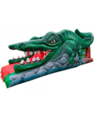 Croc Inflável -2,8m x 8m x 3m