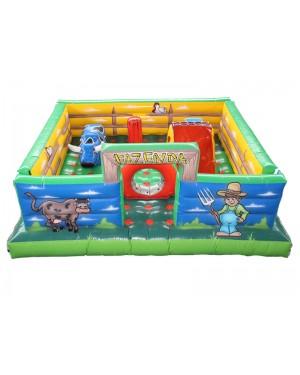 Kid Play Fazenda Inflável 4,5m x 5m